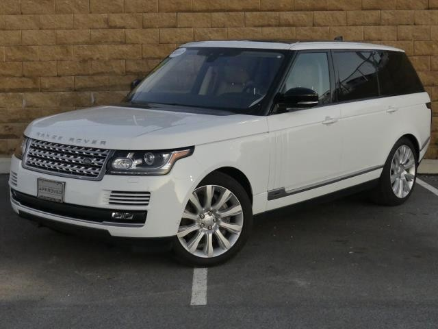 Certified Pre-Owned 2017 Land Rover Range Rover V8