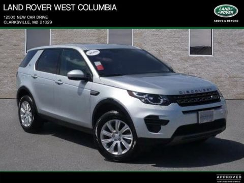 Certified Pre-Owned 2018 Land Rover Discovery Sport SE