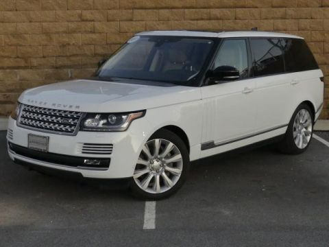 Certified Pre-Owned 2017 Land Rover Range Rover V6