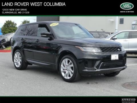 Certified Pre-Owned 2019 Land Rover Range Rover Sport HSE Dynamic